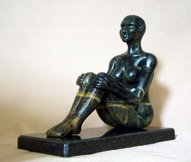 The Dark Elf Priestess A Figurative Sculpture